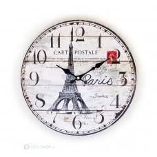 Vintage falióra Eiffel torony dizájnna