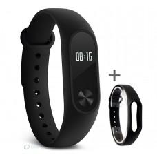 Xiaomi Mi Band 2 pulzusmérős fitneszkarkötő + ajándék fekete szíj