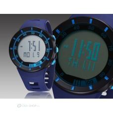 Ohsen LED kijelzős divatos sport karóra - kék