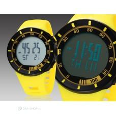 Ohsen LED kijelzős divatos sport karóra - sárga