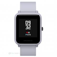 Xiaomi Amazfit Bip fitnesz okosóra GPS (EU verzió) - világosszürke