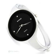 Kimio trendi karpereces női óra - fekete