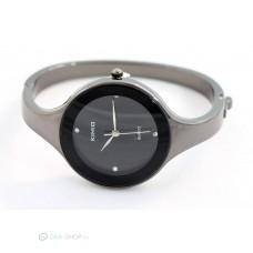 Kimio elegáns karpereces női óra - fekete