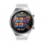 Smart Watch Q8 pulzusmérős telefonfunkciós okosóra - fehér