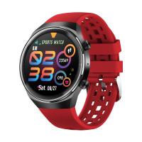 Smart Watch Q8 pulzusmérős telefonfunkciós okosóra - piros