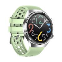 Smart Watch Q8 pulzusmérős telefonfunkciós okosóra - világoszöld