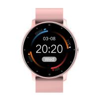 Smart Watch LZ02 pulzus és véroxigénszint mérős okosóra - rózsaszín