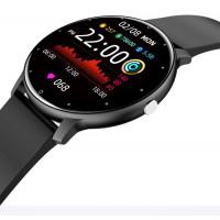 Smart Watch LZ02 pulzus és véroxigénszint mérős okosóra - fekete