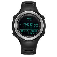 Weide aktivitásmérős vízálló sportóra Bluetooth modullal - fekete