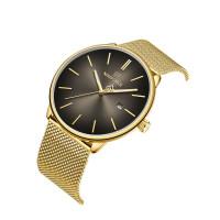 Naviforce minimál dizájn páros karóra arany színben - szett