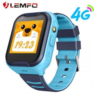 Lemfo A36E GPS 4G WIFI gyerek okosóra videóhívással - kék