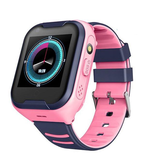Lemfo A36E GPS 4G WIFI gyerek okosóra videóhívással - rózsaszín