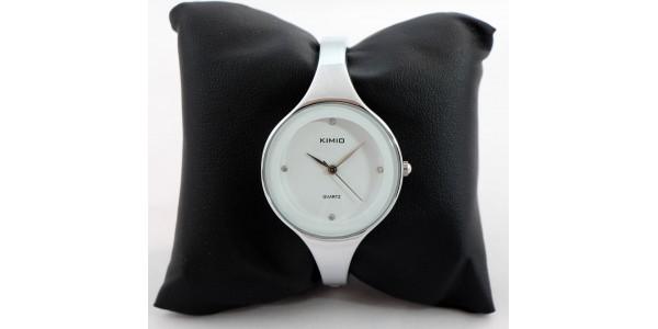 Kimio trendi karpereces női óra - fehér