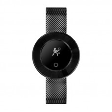 Microwear X6 ékszer okosóra csajoknak - fekete